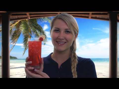 Luxury Beach Cabana Role Play (Binaural ASMR, Reiki & Scalp