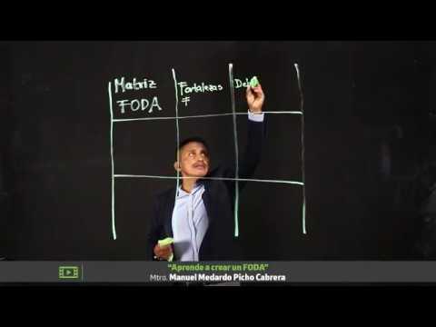 Aprende a crear un FODA I UTEL Universidad