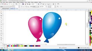 Make Balloon In CorelDraw Tutorial (Eng.)