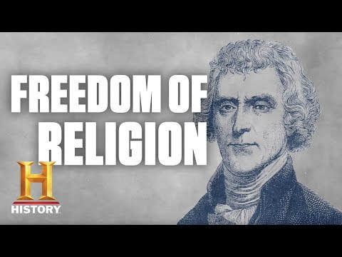 The First Amendment: Freedom of Religion in the U.S.   History