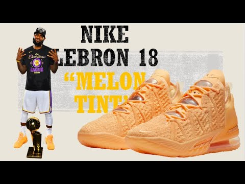 "Nike LeBron 18 ""Melon Tint"" Official"