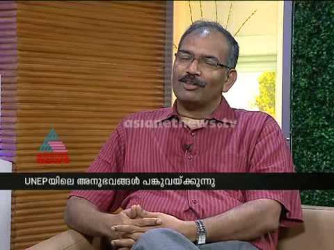Interview : Murali Thummarukudy( Chief of Disaster Risk Reduction in the UN Environment Programme)