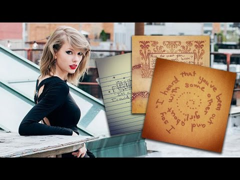 Taylor Swift Reveals 1989 Lyrics About An Ex On Instagram Youtube