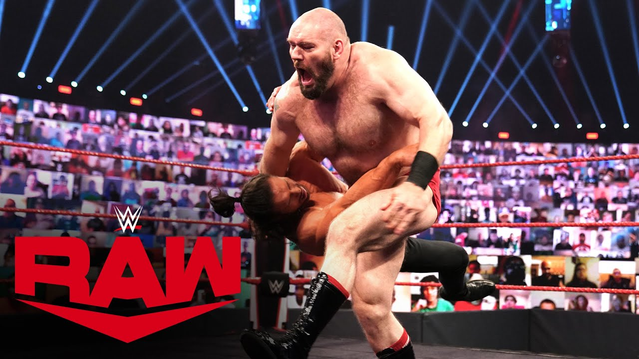 Lars Sullivan demolishes John Morrison: Raw, Oct. 12, 2020