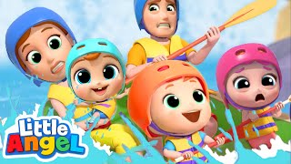 Let's Go to the Jungle Park | Little Angel Kids Songs & Nursery Rhymes