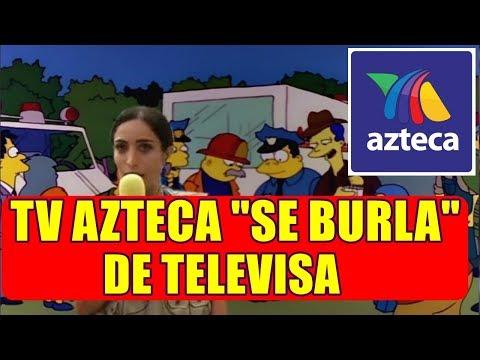 TV AZTECA SE BURLA de TELEVISA por FRIDA SOFIA con CAPITULO de TIMMY O`TOOLE