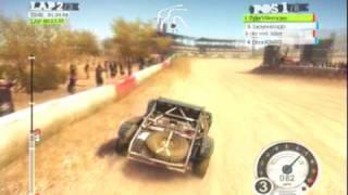 DiRT 2 (PS3) Gameplay