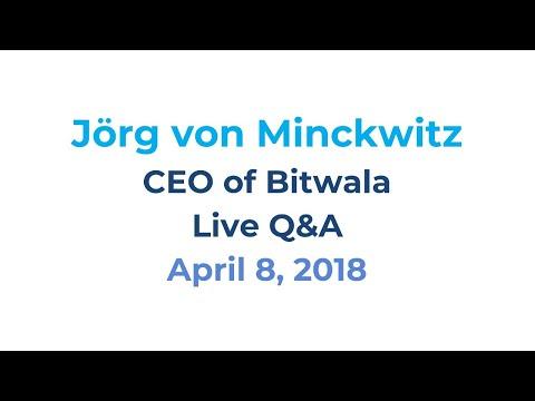 Live Q&A   Blockchain Banking with Bitwala CEO Jörg von Minckwitz