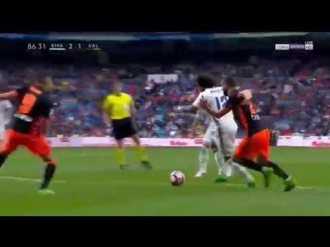 Download REAL MADRID VS VALENCIA 2-1 GOAL Marcelo 29/04/2017 [HD]