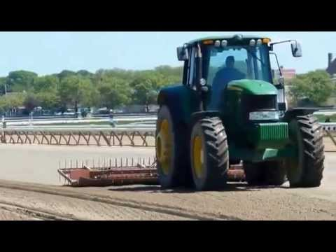 AQUEDUCT RACE TRACK CONDITIONING THE SOIL