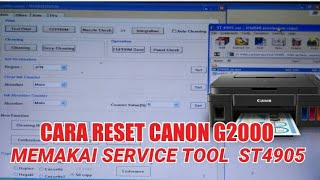 Canon service tool 4905 video