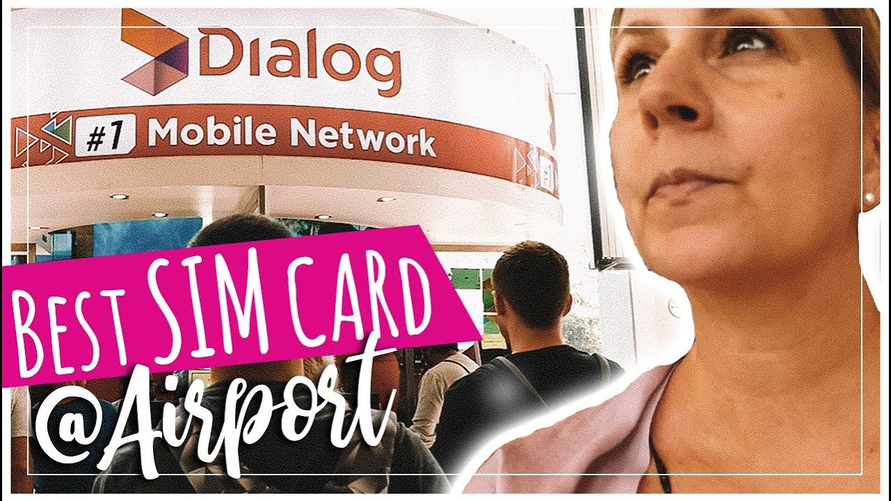 Cout Carte Sim Sri Lanka.Dialog Sri Lanka Best Prepaid Sim Card At Colombo Airport