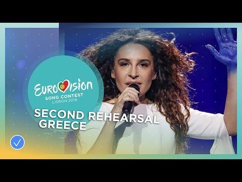 Yianna Terzi – Oniro Mou – Exclusive Rehearsal Clip – Greece – Eurovision 2018