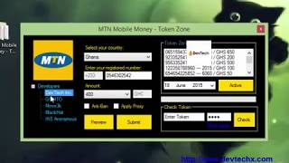 MTN Mobile Money   Token Zone by DevTech Plus+