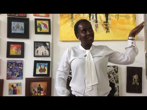 uganda person interview 180319 Lyton Hillary Kampala Umoja Art Gallery