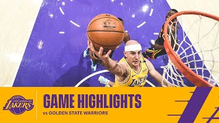 HIGHLIGHTS | Alex Caruso (14 pts, 3 reb, 2 ast) vs Golden State Warriors