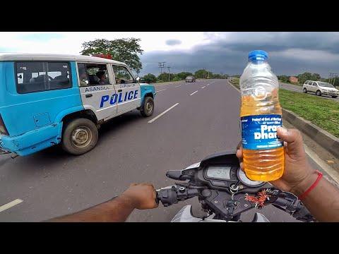 Ride With Asansol Durgapur Police | Petrol Pump Fraud In Asansol