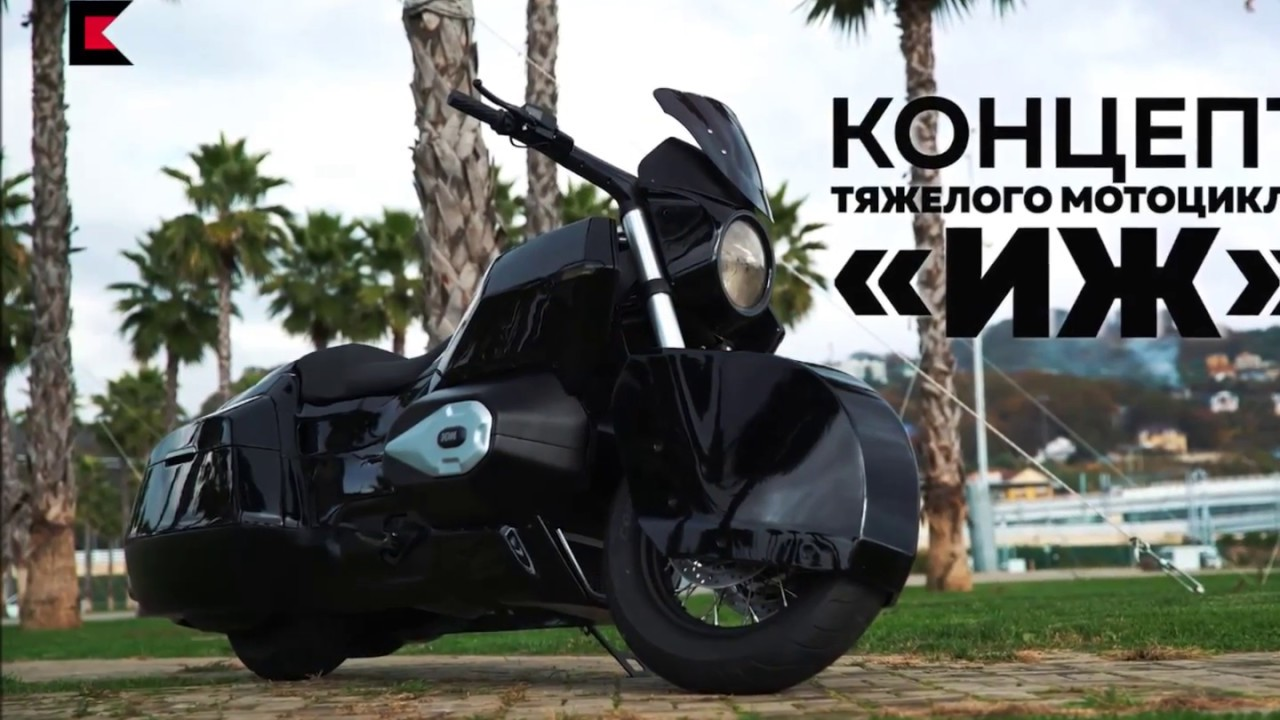 2017 Kalashnikov IZH - Putinov motocykel s extrémnymi parametrami