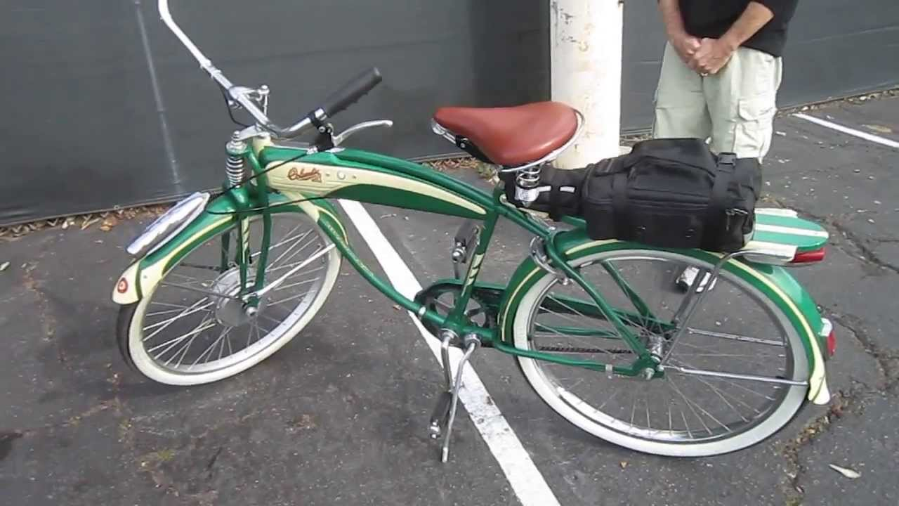 Columbia Vintage Reproduction With A E Bike Conversion Youtube