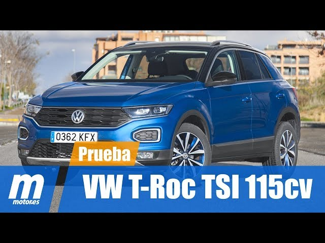 VW T-Roc 1.0 TSI 115 CV Advanced Style / Prueba / Review en Español