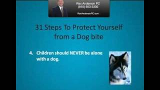 Michigan Dog Bite - 31 Ways To Protect Yourself