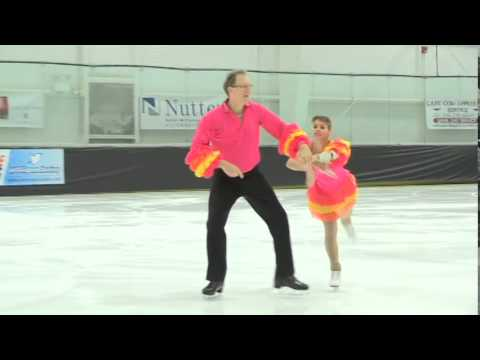 2014 US Adult Figure Skating Championships - Silver Pairs - Panzer and Lichtefeld