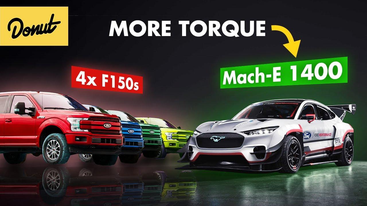 How the Ford Mach E 1400 makes more torque than FOUR F-150s