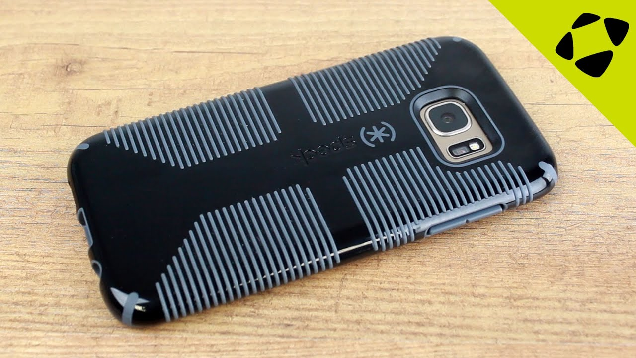 great fit 36915 1b3c7 Speck Candyshell Grip Samsung Galaxy S7 Edge Case Review - Hands On