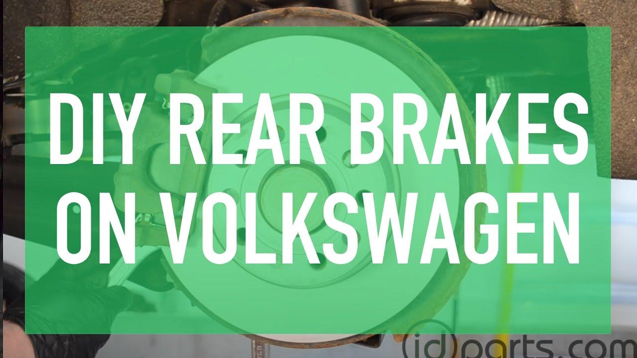 how to change sportwagen jetta golf rear brakes youtube. Black Bedroom Furniture Sets. Home Design Ideas
