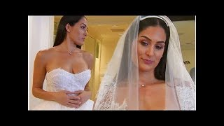 Nikki Bella is 'not excited' when trying on wedding dresses for John Cena nuptials in preview of ...
