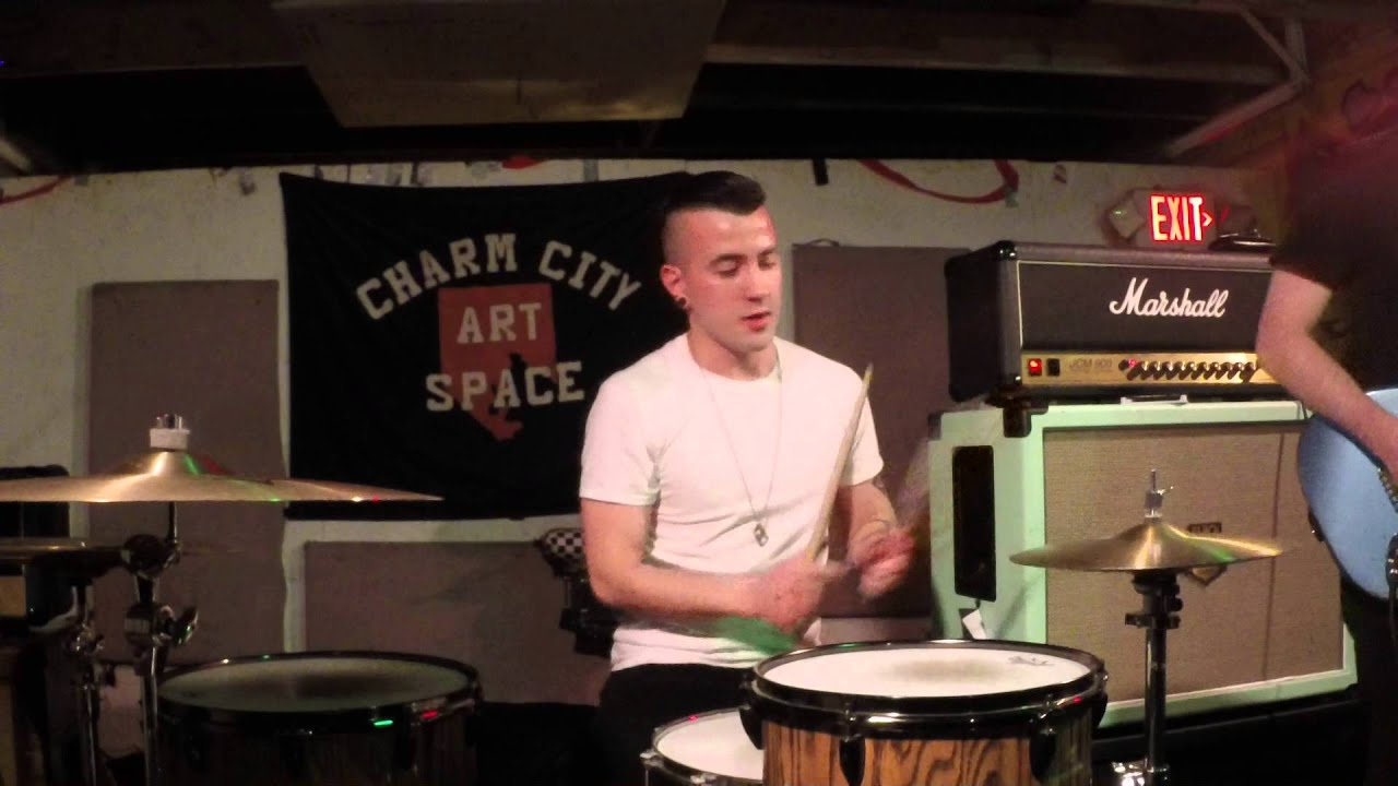Drum Cam : Haunt Performing at Charm City Art Space Pt. 1 ...