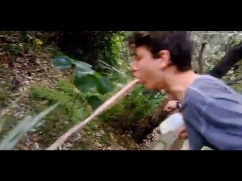 best throw up ever!! ultimate milk challenge - youtube