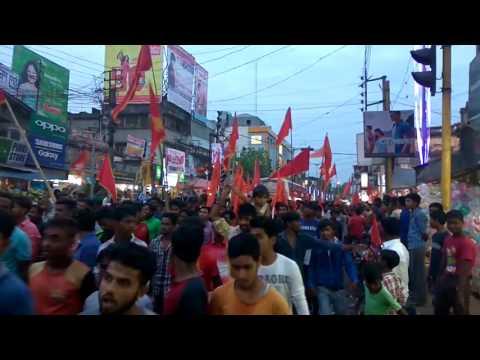 Ram Navami Kanchrapara - North 24 Pargana , West Bengal , India