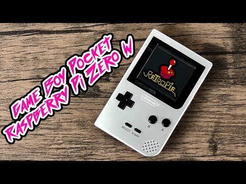 Game Boy Pocket Raspberry Pi Zero W Gaboze Pocaio