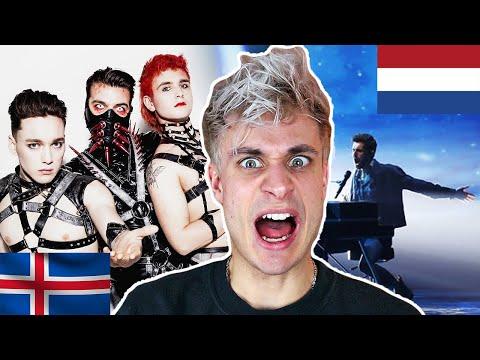REACTING TO EUROVISION 2019 - Netherlands, Iceland, Russia, Sweden, Estonia, etc