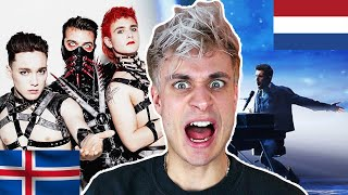 REACTING TO EUROVISION 2019 - Netherlands, Iceland, Russia, Sweden, Estonia, etc