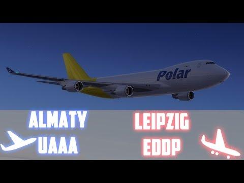 STORMWARNING! [GER] PAC965 [IVAO/Prepar3D] | Almaty - Leipzig | OnlyFLY