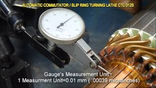 CTL-312S Commutator / Slip Ring Turning Lathe