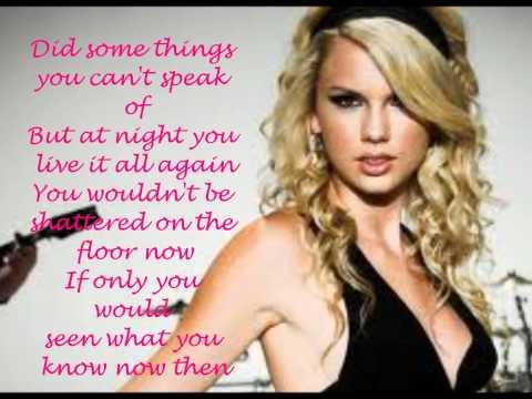 Innocent By Taylor Swift (Lyrics Video)