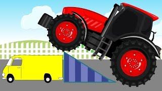 Fairy Tractors  | Bajki Traktory | Animacje - Bazylland