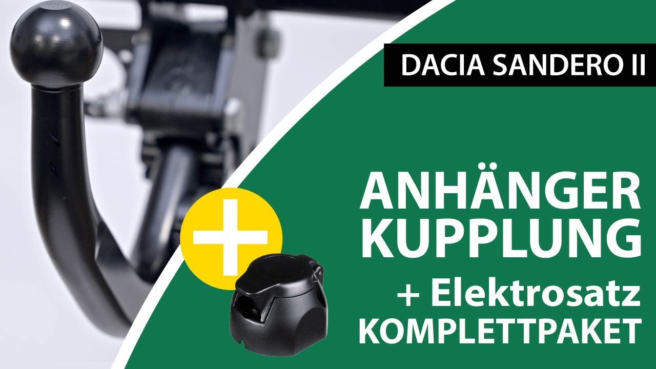 Dacia Lodgy 12 Bosal Anhängerkupplung starr /& 13poliger E-Satz Komplettsatz NEU