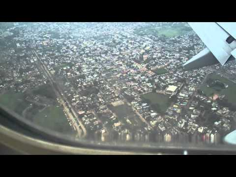 LANDING AT INDORE AIRPORT