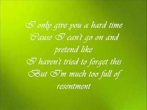 Beyonce - Resentment ( with lyrics)