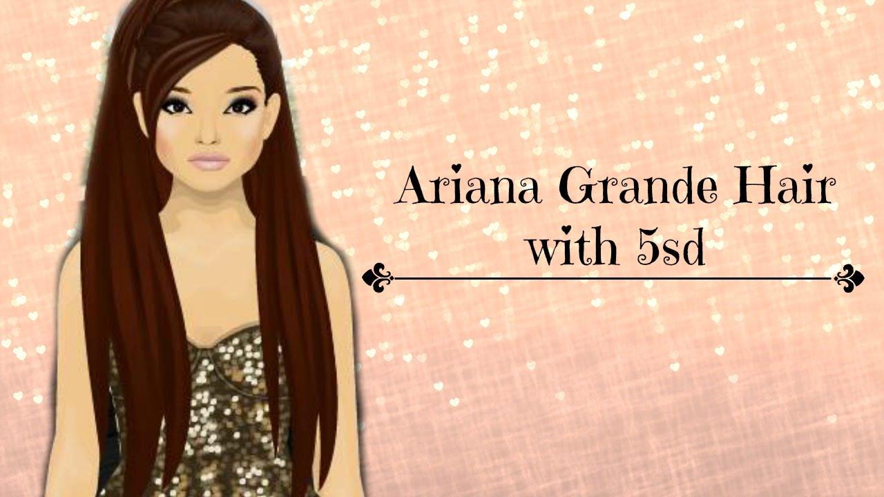 stardoll ariana grande 5sd hair