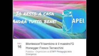 """""""Da solo, io! Il bambino è il maestro"""" di G. Honegger Fresco, E.Tarracchini, con Carolina Montessori"""