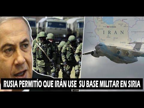 !!RUSIA DESATA LA FURIA DE ISRAEL¡¡ RUSIA PERMITE QUE IRÁN ENVÍE GRAN ARSENAL MILITAR  A SIRIA
