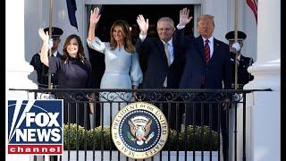Live: Trumps host Australian PM Scott Morrison for state dinner in Rose Garden
