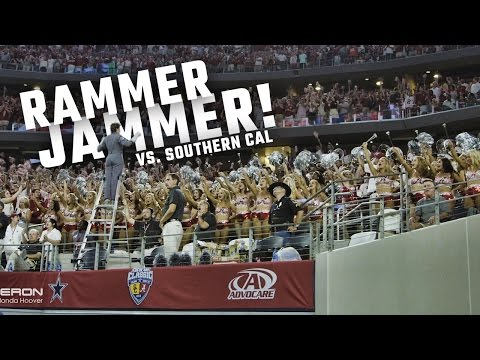 Watch Alabama fans take over AT&T Stadium with Rammer Jammer