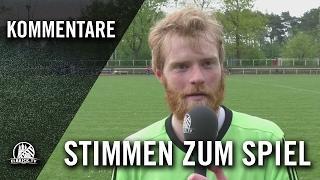 Die Stimmen zum Spiel (ASV Bergedorf 85 - TSV Gülzow, Kreisliga 3)   ELBKICK.TV