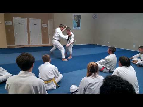 Deashi & Okuri Ashi Formal & Self-Defense Applications | Jukido Jujitsu